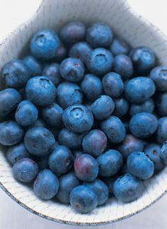 "Previous Pinner: My favorite ""belly blaster""...THE BLUEBERRY.  Whether its a pre-workout snack or a post-workout snack (add greek yogurt for protein) this berry is known for targeting deep tummy fat. - Andrea"