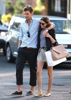 Olivia Palermo... SO snooty, yet so well dressed (and a hot boyfriend...no fair)