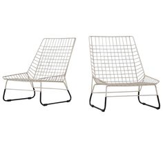 1stdibs.com | Pastoe Cees Braakman skater chairs Holland 1955