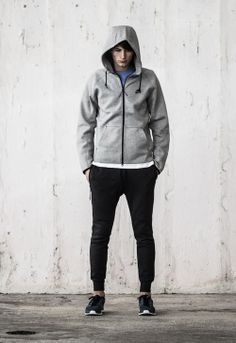 Nike Tech Fleece, love this collection, modern well designed Nike. Comfortable.
