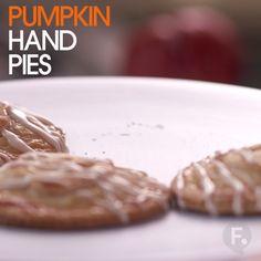 Pumpkin Hand Pies
