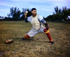 My favorite of the Boys of Summer, the old Brooklyn Dodgers, catcher Roy Campanella