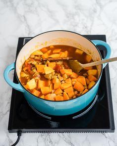 Moroccan Lamb and Squash Stew