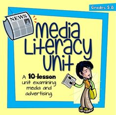 A Media Literacy Unit to share with my students. Media Literacy, Literacy Activities, Advertising Techniques, Information Literacy, Media Unit, Digital Literacy, Teaching Reading, Learning, Critical Thinking Skills