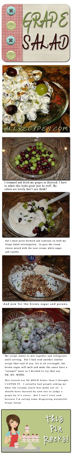 Grape Salad | Made From Pinterest
