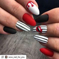 Semi-permanent varnish, false nails, patches: which manicure to choose? - My Nails Fall Nail Designs, Acrylic Nail Designs, Nails Design Autumn, Great Nails, Cute Nails, Wow Nails, Funky Nails, Cute Acrylic Nails, Pastel Nails