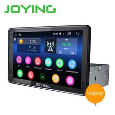 Universal 8' One 1 Din Android 5.1 Quad Core Car DVD GPS Navigation Capacitive Touch screen With Autoradio WIFI 4G Video Stereo