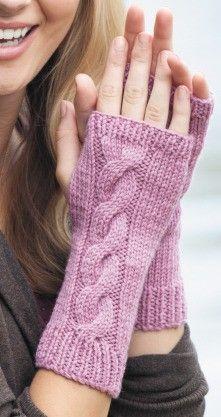 Fingerless Gloves ePattern - Vzory na pletenie - Crochet Fingerless Gloves Free Pattern, Knitted Mittens Pattern, Fingerless Gloves Knitted, Crochet Gloves, Knitted Slippers, Knit Mittens, Knitted Hats, Guêtres Au Crochet, Crochet Granny