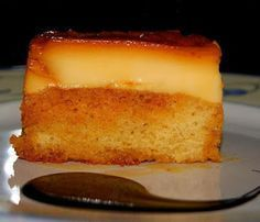 Flan con bizcocho thermomix Best Cooker, Thermomix Desserts, Cooking Chef, Cornbread, French Toast, Cheesecake, Deserts, Snacks, Breakfast