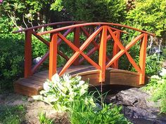 Kaarisilta Garden Bridge, Garden Ideas, Outdoor Structures, Dreams, House, Beautiful, Ornaments, Home, Landscaping Ideas