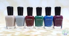 Zoya Urban Grunge Once Coat Creams | Kat Stays Polished @zoyanailpolish #urbangrunge