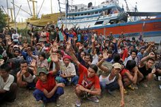 Number of slaves found on Indonesian island at almost 550 ..........  The number of enslaved fishermen found on a remote Indonesian island has now reached nearly 550, after a fact-finding team returned for a single day to make sure no one had been left behind nearly a week after more than half of the men were removed in a dramatic rescue.Many of the 210 identified Thursday were Burmese who wanted to leave, but there were a few holdouts — men who claimed they were owed years of back pay from…