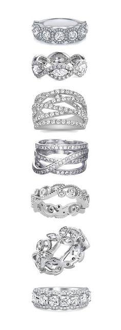 Vintage Diamond Wedding Rings