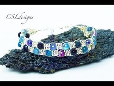 In this tutorial I show you how to make a diamonds beaded bracelet. Please feel free to give it a go yourself and I hope you enjoy. Materials: 8mm rounds 3mm...