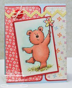 Fred Bear and the Pinwheel - Karen Giron