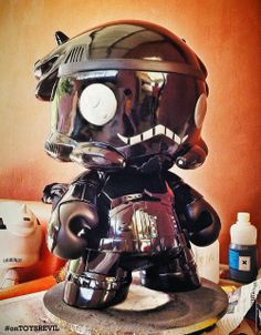 #onTOYSREVIL: Custom-Feature: Shadow Dino Trooper by @TheYellowDino (for Jakarta Toys & Comic Fair 2014)