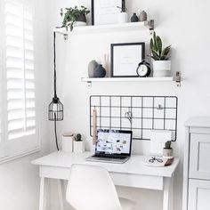 Office Goals Source: www.thebeautydojo.com #scandinavianinterior #interiordesign #interior4you #interiordesign #interiors #interiør #instahome #instafollow #instagood #decor #homeinspiration #homestyling #homeideas #homedecor #modern #scandinavianinterior #scandinaviandesign #office #officedecor