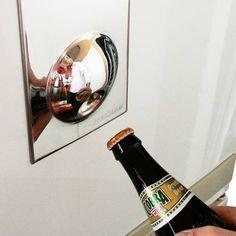 Magnetyczny otwieracz do butelek / Bottle opener fridge magnet