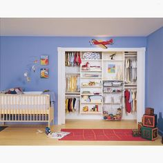 Baby closet goalsCredit to California Closets of the Texas Hill County... - Home Decor For Kids And Interior Design Ideas for Children, Toddler Room Ideas For Boys And Girls