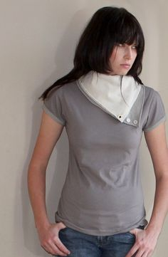 Aviator Flight Shirt by Minxshop on Etsy