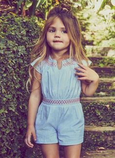 I may be slightly obsessed with baby girl clothes!! I want this romper for my little girl! #babygirl #ad #babyclothes