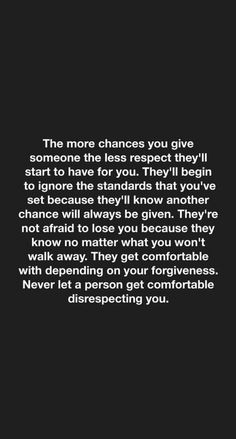 Raise your standards. Don't let people walk all over you. Don't be a fool.