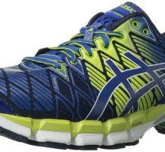 brand new 9123c 5c893 ASICS Men s Gel Kinsei 5 Running Shoe,Navy Royal Lime,