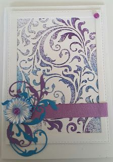 Focus on Papercraft: A card using Sizzix mixed media dies