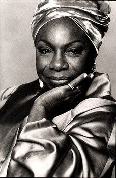 In celebration of great women: Nina Simone. Women's History Month. Black History Month. Jazz Appreciation Month.