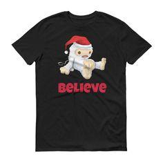 Believe in Abominable Santa - unisex