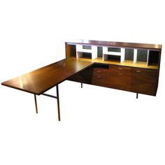 Credenza & Desk by George Nelson.  perfect for a home office
