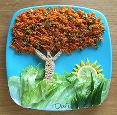 Food Art For Kids, Cute Food Art, Creative Food Art, Cooking With Kids, Fun Cooking, Healthy Snaks, Kid Sandwiches, Finger Foods For Kids, Food Displays