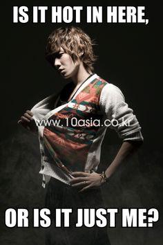 Lee joon hotness makes me feel hot too.. lol