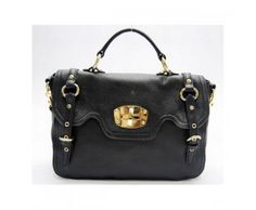 Miu Miu Classic Tote Leather Hobo Bags Online Black Miu Miu bags, Miu Miu handbags, Miu Miu outlet