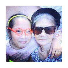My grandma and my sis were just playing cool xx