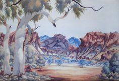 Untitled c.1965 | Reuben Pareroultja (1916-1986)
