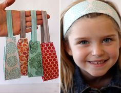 fabric headband DIY www.aliceandlois.com