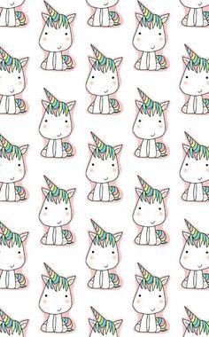 68 New Ideas Wallpaper Celular Unicornio Unicornios Wallpaper, Tumblr Wallpaper, Pattern Wallpaper, Wallpaper Backgrounds, Real Unicorn, Rainbow Unicorn, Unicorn Party, Unicorn Land, Gift Wrapper