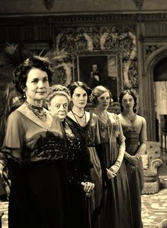 The Ladies of Downton Abbey