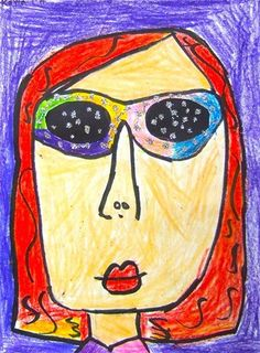 sunglass portrait
