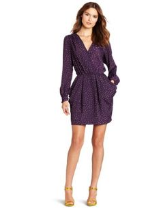 BCBGeneration Women's Long Sleeve Surplus Dress, Eggplant Combo, Medium BCBGeneration,http://www.amazon.com/dp/B00972IKRC/ref=cm_sw_r_pi_dp_qVb6qb0FHPN1VPPS