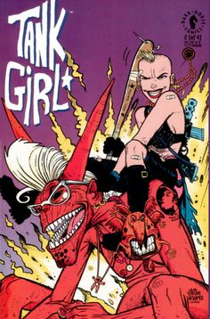 COMIC_tank_girl_02 #comic #cover #art