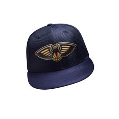 7bb26ce3443 New Era Men s New Orleans Pelicans 59FIFTY Team On Court Cap (Navy