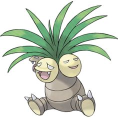 Exeggutor - #103 - Grass and Psychic Type