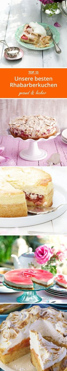 Unsere besten Rhabarberkuchen | eatsmarter.de