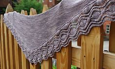 Ravelry: Ravessa Shawl pattern by Sarah Jordan
