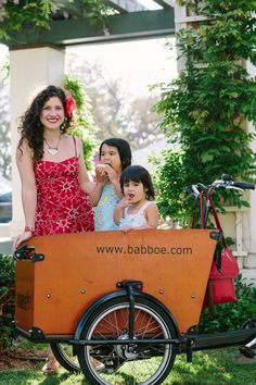 Shelby Sanchez shares cargo bike lessons she learned while riding with her two young children.
