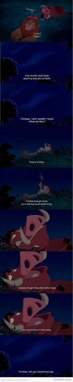hahahaha so great i love timon and pumbaa :)