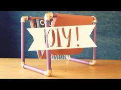 Haz tu propio revistero de estilo industrial moderno | DIY Westwing - YouTube