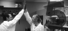 Every successful experiment deserves an obligatory high five #LabHighFive